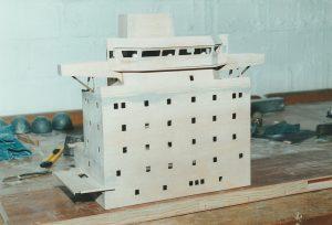 Deckshaus - Bugansicht
